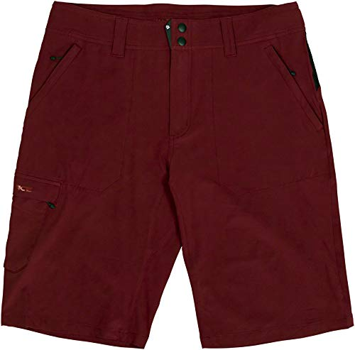 RaceFace Trigger Shorts - Dark Red, Men
