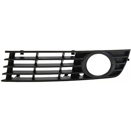 Fog Light Molding compatible with Audi A4/S4 02-05 Left Side Type 1 Paint To Match