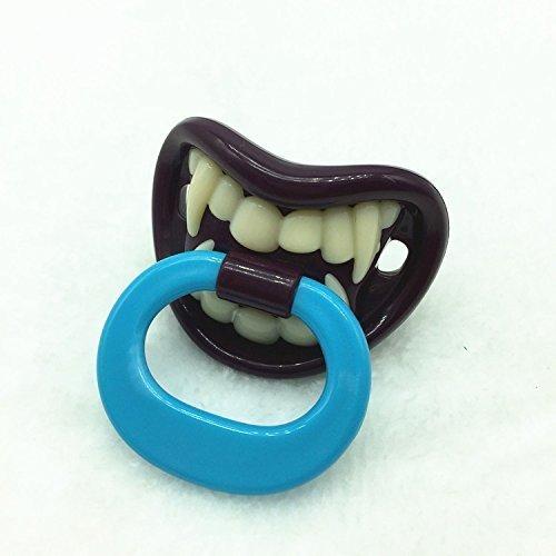 Xiton Spaß und einzigartige Schnuller des Babys Kleiner Vampir Infant Silikon orthodontischen Nippel