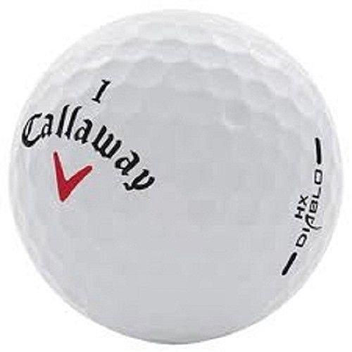 LD 50 Callaway DIABLO AAA-AAAA(alta calidad) pelotas de golf usadas