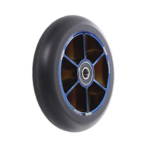 Anaquda Blade Stunt Scooter Rolle Wheel RS 110 mm Black/bluechrome