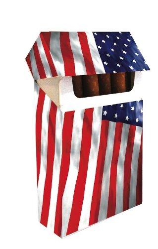 Upper Pocket - Cigarrera Smoking Box USA Flag