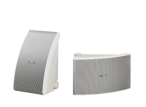 Yamaha NS AW592WH 150 Watt 6.5 Inch Cone All Weather Speakers (1 Pair,...