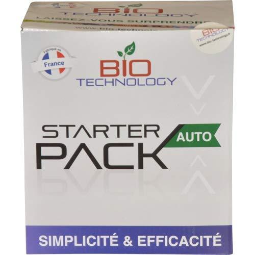 Bio Technology® | Paquete Completo de Fertilizante para Crecimiento y Floración | Rico en Minerales | Floración de Calidad | Eficiencia Garantizada 1 Paquete = 4 Productos | Started Auto Pack
