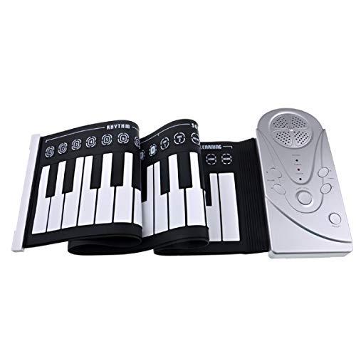 Healifty - Piano portátil (49 teclas)