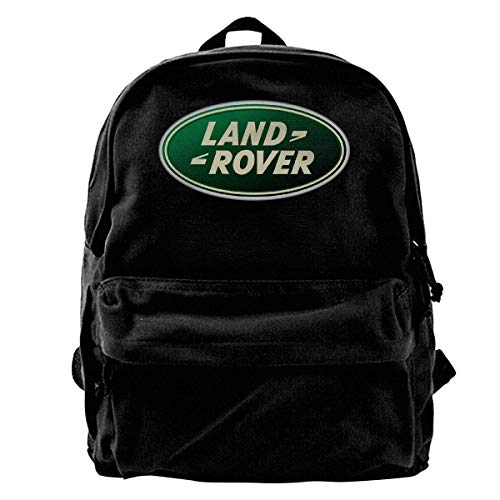 Schultasche La-Nd Ro-Ver Car Logo Canvas Backpack Anime Daypack Student Durable Print Birthday Adult Portable Unique School Book College Bag Travel Shoulder Bag GiftT