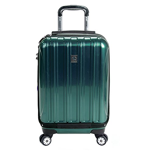 DELSEY Paris Helium Aero Hardside Expandable Luggage with Spinner Wheels, Teal, Carry-On 19 Inch