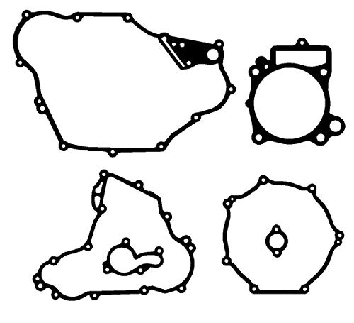 M-g 330976k Engine Gasket Set for Kawasaki Kfx450 Kfx450r Kfx 450 450r 08-2014