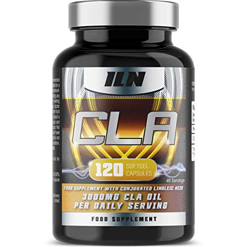 Iron Labs Nutrition, CLA - 3000mg x 40 Servings - Food Supplement with...