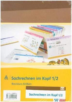 Sachrechnen im Kopf 1-2: Kartei Klasse 1/2: 1./2. Schuljahr (Programm Mathe 2000+)