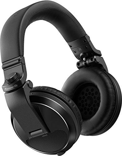 Pioneer DJ – Cuffie Over-Ear Professionali Modello HDJ-X5 | Eccellente Qualità Sonora | Durata Superiore e Funzionalità Migliorate per DJ Professionisti – Nero