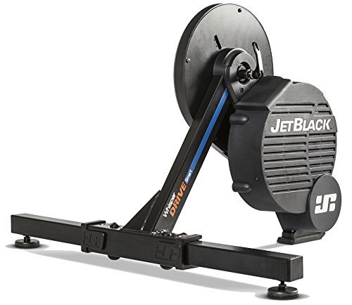 Jet Black Whisperdrive Electromagnetic Smart Trainer: Includes APP Program