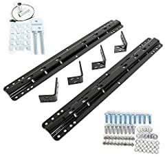 Install your fifth-wheel trailer hitch with this universal, 10-bolt kit. Rails, brackets and hardware are included. Rails mount on top of truck-bed floor. Not for use on Reese Elite Series (or Signature Series) models. Base rails provide necessary at...
