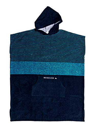 Quiksilver Herren Hoody Towel - Surf-Poncho Beach Supplies, Caribbean sea, 1SZ