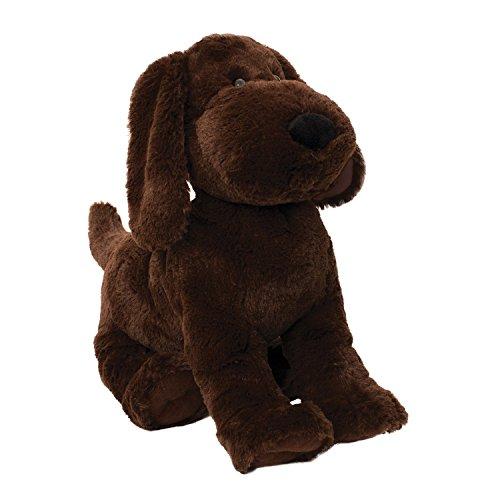 Puppy Playtime Chiot Jeu Petits Pains Ronds Hound Jouet Chiot par Manhattan Doux (Marron)