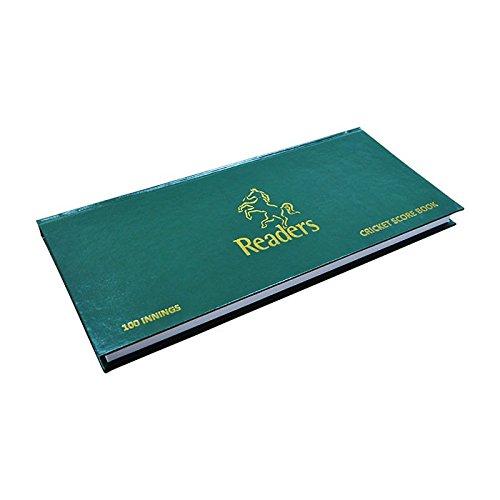 Cartasport Cricket Score Book 100 Innings - Green