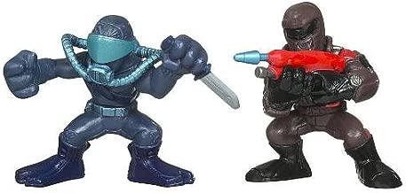 GI Joe Rise of Cobra Combat Heroes 2-Pack Snake Eyes & Aqua-Viper