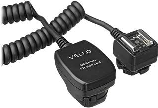 Vello Off-Camera TTL Flash Cord for Canon Cameras (6.5')
