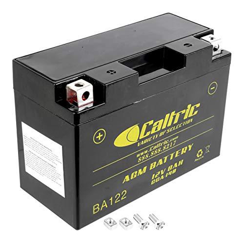 Caltric Agm Agm Battery for Yamaha Raptor 700 Yfm700R Yfm-700R 2006-2016