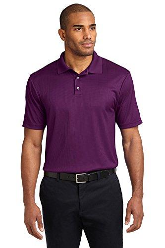 Port Authority® Performance Fine Jacquard Polo. K528 Violet Purple 3XL