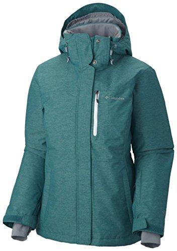 Columbia Damen Alpine Action Oh Jacket Jacke, grün - smaragdgrün, XL, 1562241