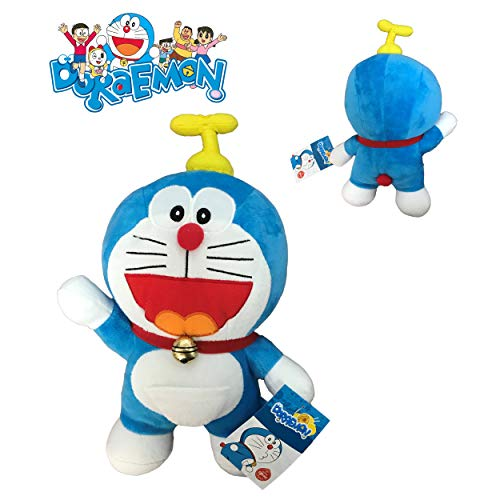 doraemon peluche Doraemon elicottero 25 cm