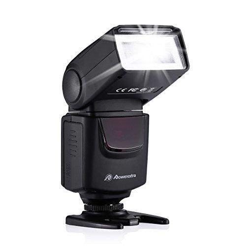 Powerextra フラッシュ・スピードライト フラッシュ ストロボ スピードライト カメラ 一眼レンズカメラ専用...