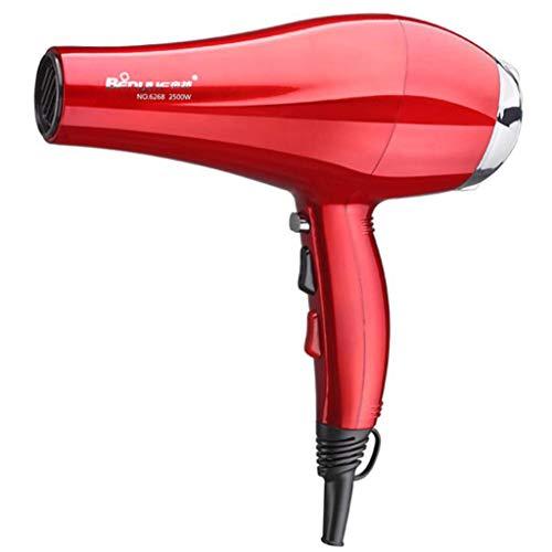 Sèche-cheveux, Sèche-cheveux salon de coiffure, sèche-cheveux dortoir étudiant, chaud et froid vent ionique sèche-linge électroménager (Couleur : Red)