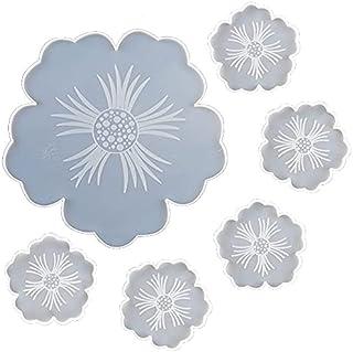 KU Syang Coaster Fruit Dish Silicone for UV Transparent Epoxy Resin DIY Handmade Crafts Table Decoration