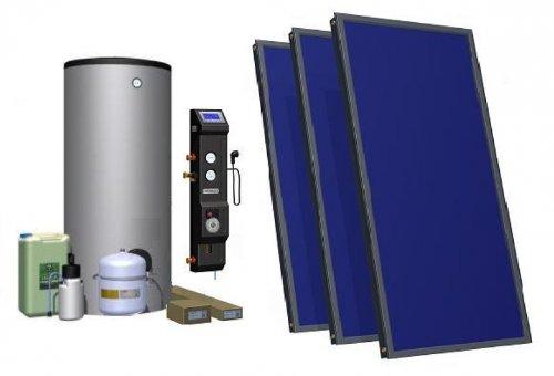 Solarpaket für Brauchwassererwärmung - 300 Liter