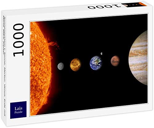 Lais Puzzle Sistema Solare I: Sole, Mercurio, Venere, Terra con Luna, Marte, Giove 1000 Pezzi