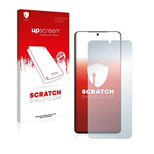 upscreen Schutzfolie kompatibel mit Samsung Galaxy S21 Plus 5G – Kristallklar, Kratzschutz, Anti-Fingerprint