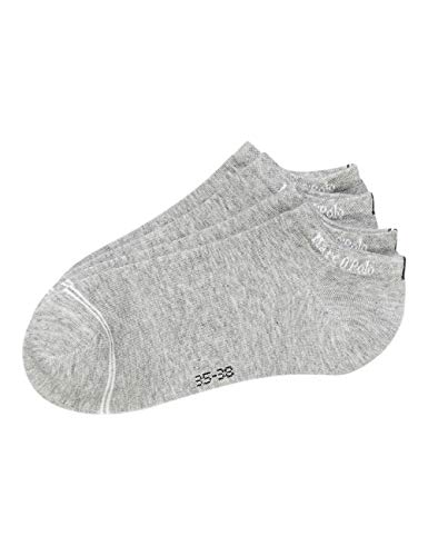 Marc O'Polo Body und Beach Damen Multipack W-SNEAKER LOW CUT 2-PACK Socken, Grau, OneSize_2