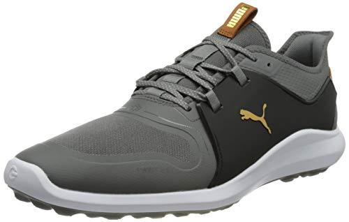 Puma Mens 193000 Golf Shoe Quiet Shade Gold Black 9 UK
