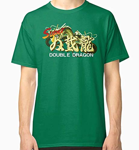 Alihan070820a601 PA Shirt Gr. S, Super Double Dragon (Snes Title Screen) Classic Ts