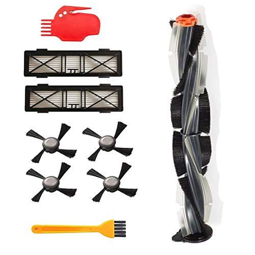 SANKUAI LT-Home, Pinsel Blade Pinsel und Borstenbürste Schläger für Neato für Botvac D3 D4 D5 D6 D7 Verbundene Staubsauger Kit Teilen (Größe : Dunkelgrau)