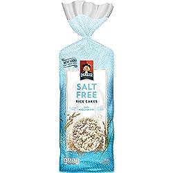 Quaker Rice Cakes, Salt Free , 4.5 oz