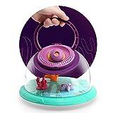 種類の教育玩具多機能動物観察水族館+スカイモデル、子供のためのポータブル小さなプラスチック家庭用音声早期教育プロジェクター、2個