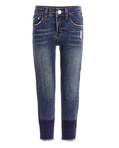 GULLIVER Jeans Mädchen Blau Jeanshosen Unifarben Klassisch Elastisch Stretch für 2 7 Jahre 98-128 cm