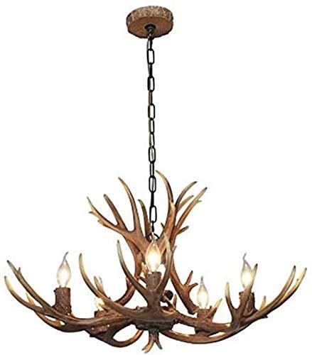 Retro de la lámpara, la lámpara de la cornamenta, creativo de la lámpara, conveniente for el dormitorio, sala de estar, cocina, bar