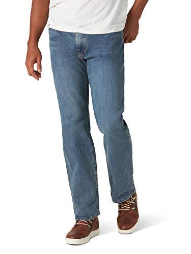 Wrangler Authentics Herren Classic Comfort-Waist Jeans, Slate, 42W / 29L