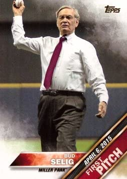 Reservation 2016 Cheap bargain Topps First Pitch #FP-12 Bud – MLB Selig Baseball Card