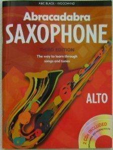 Abracadabra Musik Buch & CD für Saxophone (Englisch)