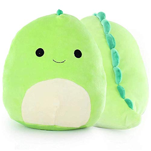 Juguete de peluche con diseño de dinosaurio, suave almohada de dinosaurio, almohada de felpa para bebé, suave cojín lumbar para la espalda, gran regalo para niños E