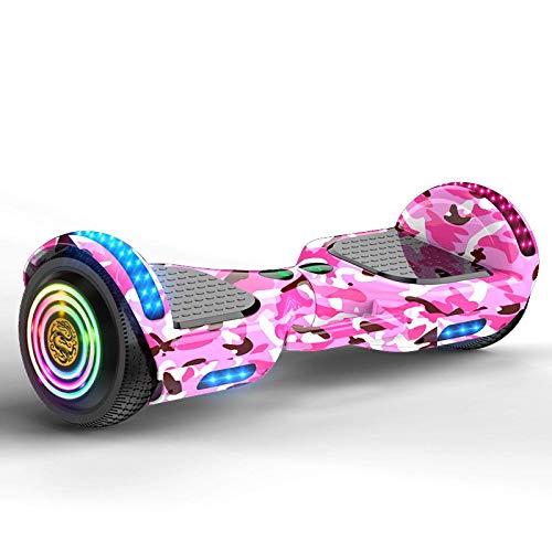 BBGSFDC Niños Adultos Auto-Estudio Eléctrico Scooter Smart Hoverboard Hoverboard Dos-Wheeler Paralelo Dos Ruedas Somatosensorial Equilibrio Coche