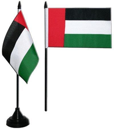 Flaggenfritze® Tischflagge Vereinigte Arabische Emirate 10x15 cm