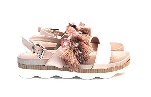 Tosca Blu , Damen Sandalen Pink Puder, Pink - Puder - Größe: 40 EU