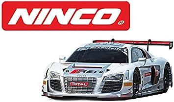 Ninco - Audi R8 GT3 Gris. Coche para Slot a Escala 1:32. 50671
