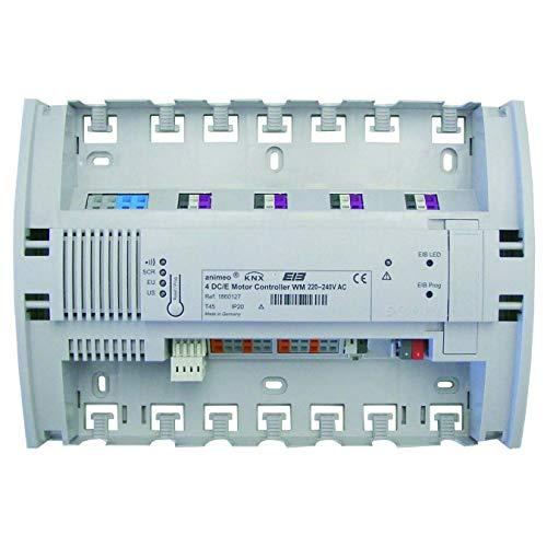 Somfy Jalousieaktor KNX/EIB 4 DC 1860128 Motor Controller Bussystem-Jalousieaktor 3660849510701