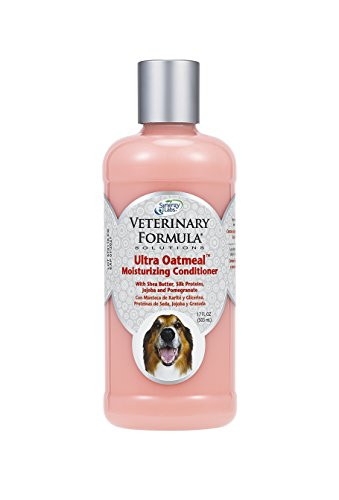 Veterinary Formula Solutions Ultra Oatmeal Moisturizing Conditioner for Dogs – With Colloidal Oatmeal and Jojoba – Leaves Coat Soft, Shiny, Hydrated, Strong– Long-Lasting Fragrance (17oz)